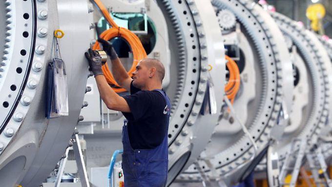 Die Industrie schwächelt etwas - wächst aber weiter.