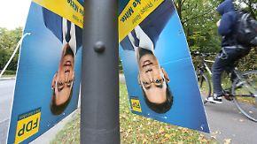 Wird Lindner zur Lichtfigur?: FDP kehrt Trümmer zusammen