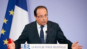 Schuldenberg auf Rekordniveau: Frankreich plant 2014 Wachstum auf Pump