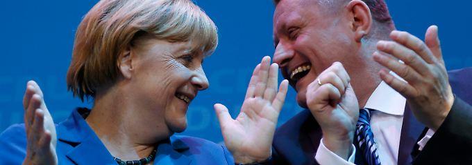 Am Wahlabend feierte die CDU ihr Wahlergebnis - jetzt beginnen die Mühen der Ebene.