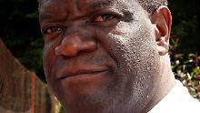 Der kongolesische Arzt Denis Mukwege wird für seinen mutigen Einsatz ausgezeichnet.