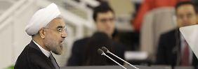 """""""Eine Frage von Monaten, nicht Jahren"""": Ruhani legt Anti-Atomwaffenplan vor"""
