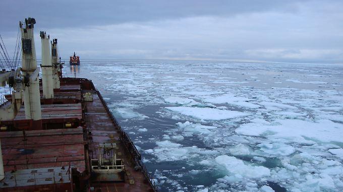 Nordic Bulk Carriers erhofft sich von der Nutzung der Nordwest-Passage einen erheblichen Zeitgewinn.