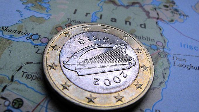 Das Geld der grünen Insel: Irland ist bei Großkonzernen wegen seiner niedrigen Unternehmenssteuern beliebt.