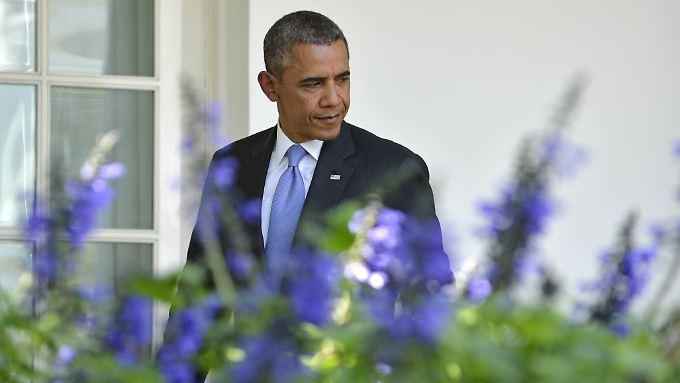 US-Präsident Barack Obama beklagt die Blockadehaltung der Republikaner.