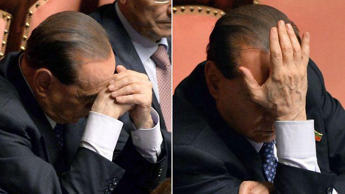 Dass Berlusconi im Senat bleibt, wird immer unwahrscheinlicher.