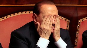 Drohender Senatsausschluss: Berlusconi soll gehen