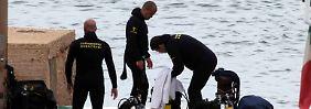 """""""Bilder des Grauens"""" vor Lampedusa: Zahl der geborgenen Leichen steigt"""