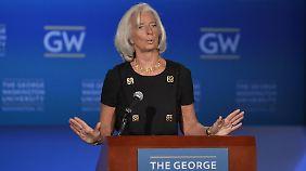 Sorgen um US-Haushaltskrise: IWF senkt Konjukturprognose