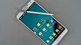 Für Knox muss man Apps aus dem Samsung-Store laden.