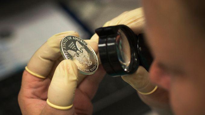 Das US-Finanzministerium darf jederzeit Sammlermünzen prägen.