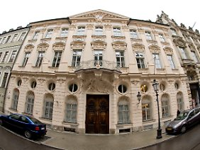 Das Palais Holnstein: Wohnsitz von Kardinal Marx.