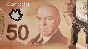 Die kanadische 50-Dollar-Note.