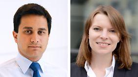 Sie sind die Ausnahmen im Bundestag: Mahmut Özdemir und Emmi Zeulner.