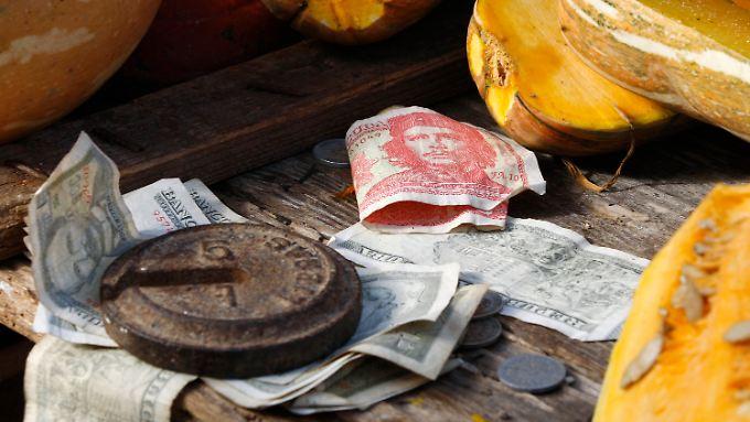 Die kubanische Regierung strebt eine Öffnung der Wirtschaft an.