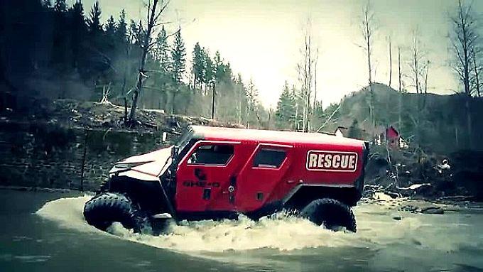 Es gibt kaum etwas, was den Ghe-O Rescue aufhalten kann.