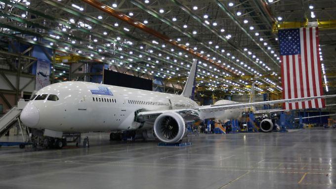 """Brummendes Geschäft: Boeing fährt """"Dreamliner""""-Produktion hoch"""
