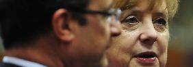 Video: Merkel und Hollande verbünden sich