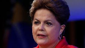 Sagte als Ausspähopfer vor einiger Zeit einen Besuch in den USA ab: Brasiliens Präsidentin Rousseff.