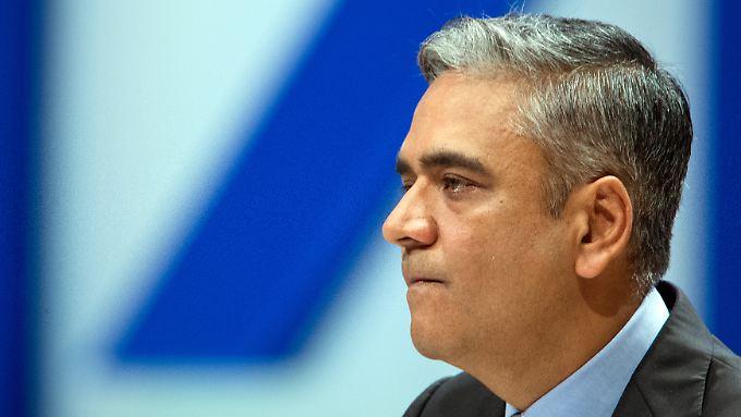 """Deutsche-Bank-Co-Chef Anshu Jain: """"Wir erwarten die Bildung weiterer Rückstellungen für Rechtsstreitigkeiten""""."""