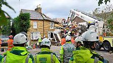 In London wurden ein Mann und eine Frau durch eine Gasexplosion in einem Haus getötet.