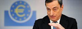 Dossier: Europäische Zentralbank: Draghi hat die Zinsen geschrumpft