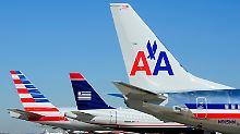 Der Zusammenschluss der beiden Airlines schmeckt der US-Regierung nicht.