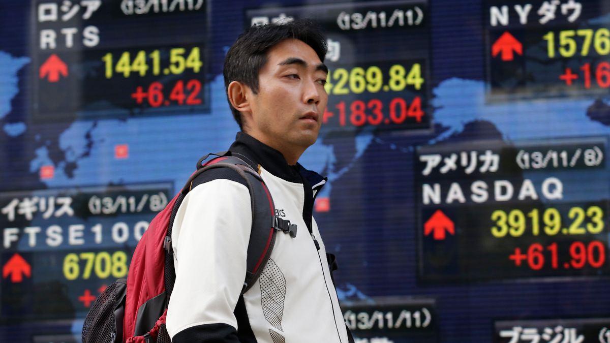 Japans Wachstum verlangsamt sich