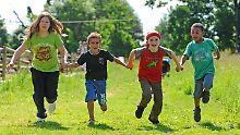 Zu viel Fett: Kinder sind langsamer als ihre Eltern