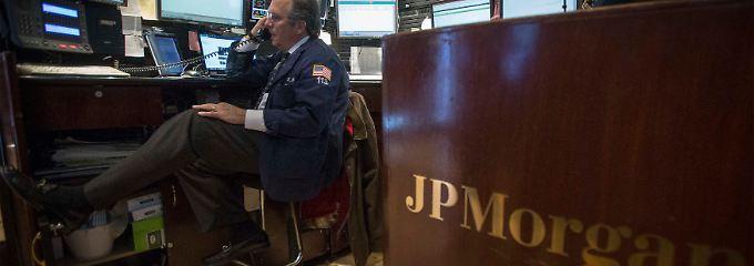 Kostspielige Schatten der Vergangenheit: Ausgestanden ist die Finanzkrise für JP Morgan noch nicht.