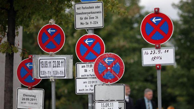 Parken verboten? Das Gerücht setzt dem Euro zu.