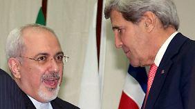 Einigung bei Gesprächen in Genf: Iran friert Teile seines Atomprogramms ein