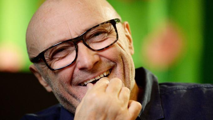 """Phil Collins war vor Kurzem in Stuttgart zur Premiere seines Musicals """"Tarzan"""" zu Besuch."""