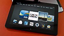 Amazons Tablet hat das bessere Display: Kindle Fire HDX 8.9 besser als iPad Air?
