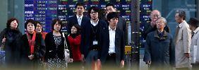 Trendwende nach 15 Jahren?: Tokio misst steigende Preise