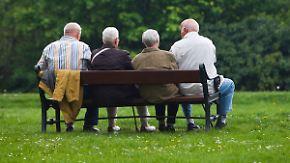 """""""Bedrohliche"""" Geschenke: Nicht mal Pensionäre sind von Rentenplänen überzeugt"""