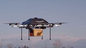 Durchbruch im Online-Handel: Amazon will künftig per Drohne liefern