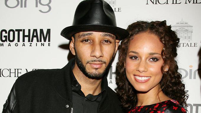 Bald Eltern einer Patchwork-Familie: Swizz Beatz und Alicia Keys.