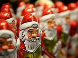 144 Millionen dieser verführerischen Schokoladen-Männer haben dieses Jahr die deutschen Produktionsbänder verlassen.