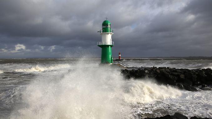 Die Küsten im Norden trifft es besonders hart.