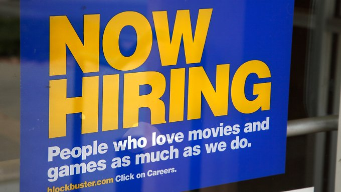 Überraschend viele neue Jobs werden in den USA derzeit geschaffen.