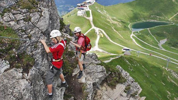 Die Anleger haben wieder Lust auf Abenteuer und Höhenluft.
