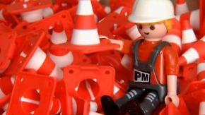 4000 Figuren in 40 Jahren: Playmobil-Ausstellung begeistert kleine Baumeister
