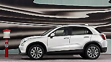 Im Hause Fiat wird auch die Modellreihe des 500 erweitert. Ein X soll den Kleinen dann auch geländetauglich machen. Na ja, wenigstens optisch. Der Antrieb erfolgt standardmäßig über die Vorderachse. Vorstellbar wäre aber perspektivisch auch ein 4x4.