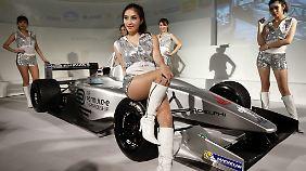 Ob es Grid Girls auch in der Formel E geben wird?