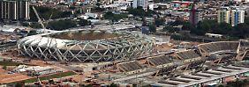 Die Millionenstadt Manaus liegt mitten im Dschungel.