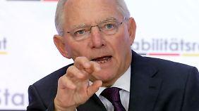 Niemand zweifelt daran, dass Schäuble Finanzminister bleibt.
