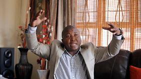 Thamsanqa Jantjie beteuert in mehreren Interviews, er leide an Schizophrenie.