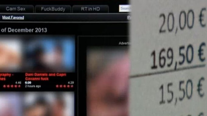 Strafe für Sex-Streaming?: Betrüger drohen Pornoguckern