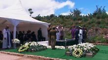 Südafrikas Nationalheld beigesetzt: Nelson Mandela findet letzte Ruhe